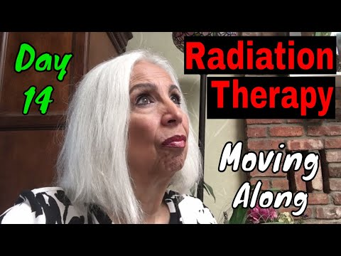Radiation Therapy - Day 14 - Moving Along