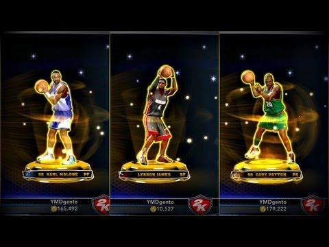 NBA 2K14 MyTEAM - BEST GOLD PACK Opening EVER! Spending Over 250K VC!