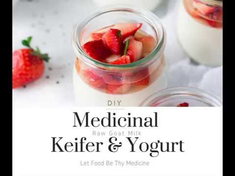DIY Goat Milk Keifer & Goat Milk Yogurt