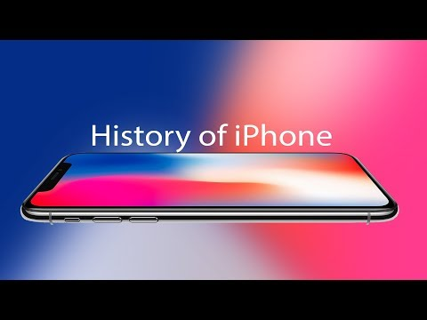 History of the iPhone 2007 to 2017