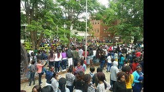 "Bloody protests at UZ - ""Toisa Chiwenga na Madhuku"""
