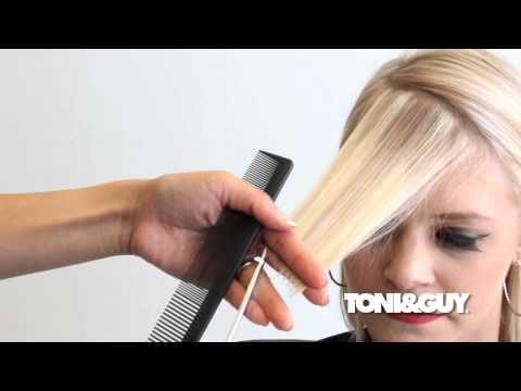 How to Cut an Asymmetrical Fringe