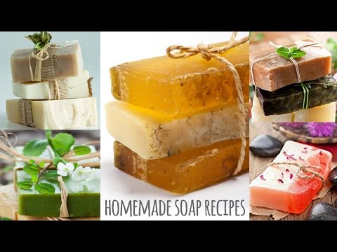 How To Make Homemade Herbal Soap Recipes | Make Your Own Soap At Home