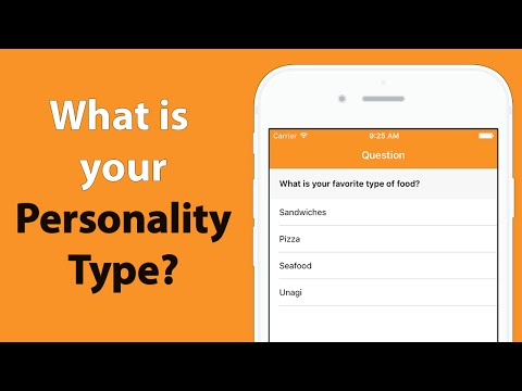 Swift: Create a Questionnaire App using UITableView Programmatically (Part 1)