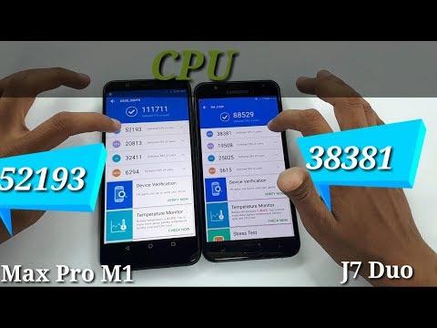 Asus Zenfone Max Pro M1 vs J7 Duo AnTuTu Speed Test