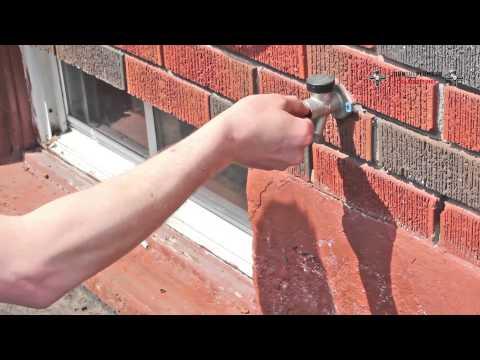 Repairing a leaky hose bib