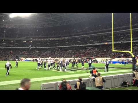 Patriots Vs Rams London 2012 - Shane Vereen Touchdown