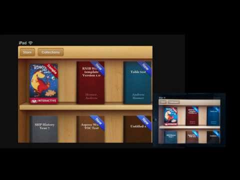 iBooks with zoom