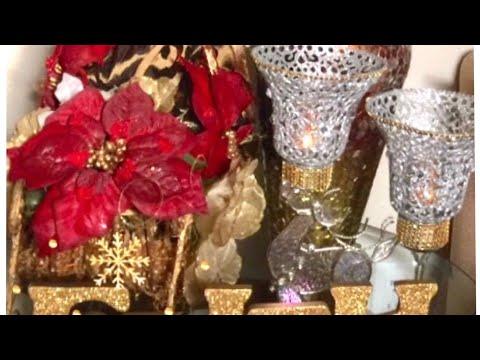 DIY Dollar Tree Home Decor Candle Holders Glam Christmas Bells Creating Elegance For Less Faithlyn