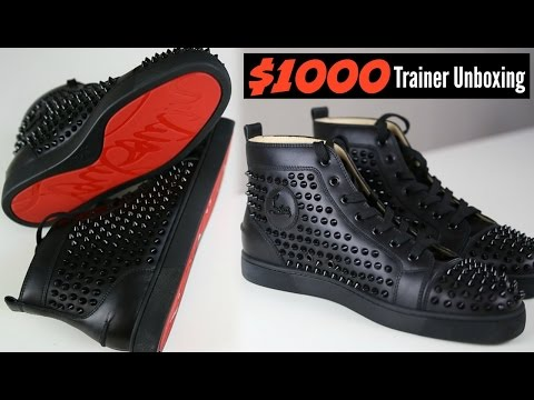Christian Louboutin $1000 Dollar Trainers Unboxing - Mens Fashion 2016