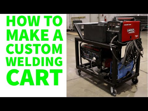 How to make a custom Welding Cart
