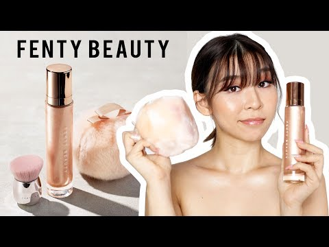 Fenty Beauty Body Lava & Fairy Bomb Review - Tina Tries It