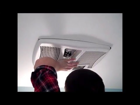 How to Replace the Heater Element on a NuTone Broan Fan/Light/Heater Combo Unit