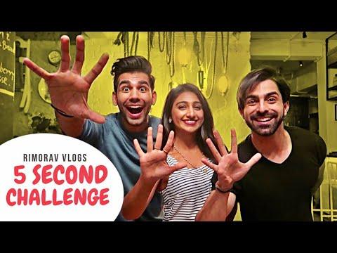 5 Second Challenge   Rimorav Vlogs