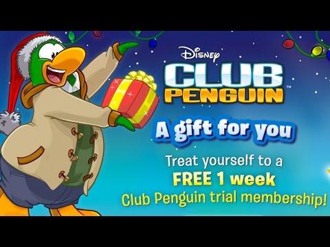 Club Penguin: FREE 7-Day Memberships (FOR EVERYONE)