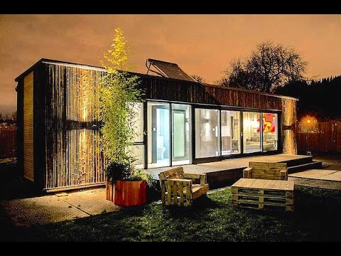 Ireland's First Shipping Container Home Built in 3 Days & Houses Homeless People