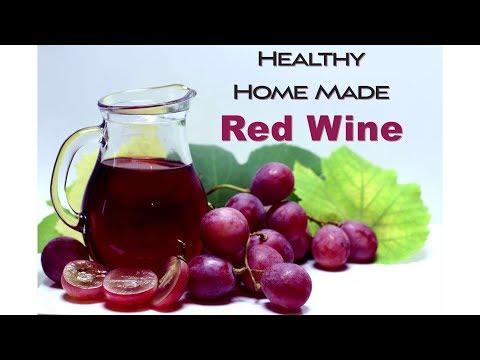 How to Make  Easy & Healthy Homemade Red Wine | Grapes Wine |blackberry Wine | by Healthy Desi Food