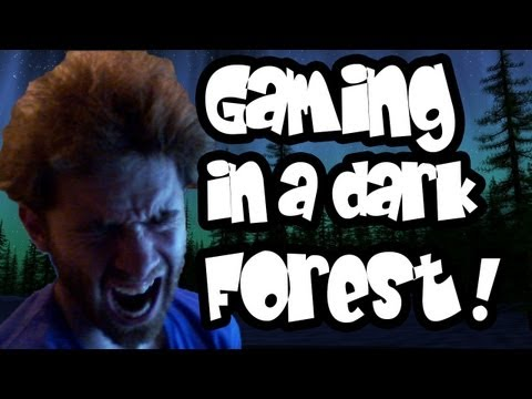 Slender - SCARIEST TIME GAMING EVER! Slender in a forest at Midnight by Whiteboy7thst