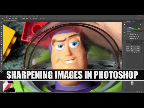 Sharpening an Image in Photoshop Using Lab Colour and Lightness Channel