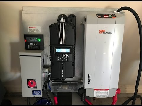New all in one 12 volt power systems by Off Grid Contracting  for cabins, tiny houses and more!