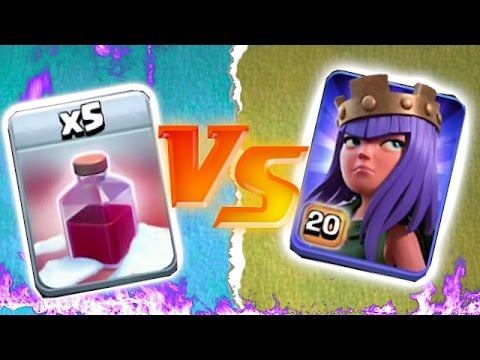 BLOWING UP HEROES IS FUN!!!😀 !!! Max spells vs. heroes🔸Troll Raids🔸