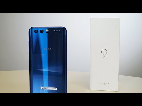 Honor 9 - A beautiful Unboxing