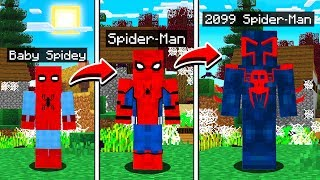 Download LIFE OF SPIDER MAN IN MINECRAFT! Video