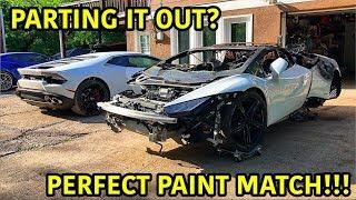 Rebuilding A Wrecked Lamborghini Huracan Part 15
