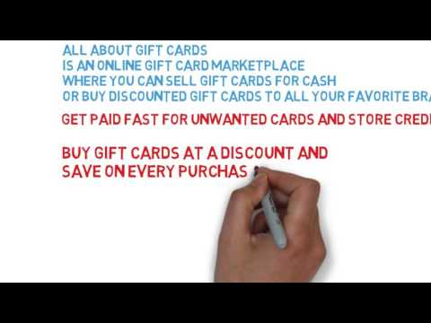 Buy And Sell gift Cards Online For A discount.
