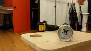 """2-3/4"""" Hole saw for Poker Drink Cart / Side Table"""