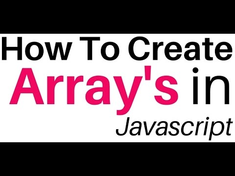 Javascript Create Instance Of Array Object, Methods and Properties
