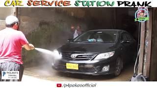 | Car Service Station Prank | By Nadir Ali & Asim Sanata In | P4 Pakao | 2018