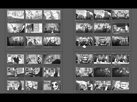 Storyboarding Techniques with Fred Gago