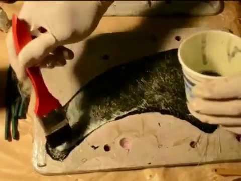 How to make a fiberglass fin mold Part 3