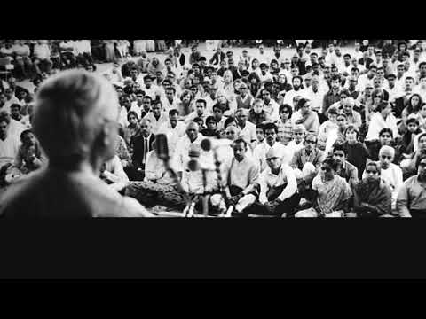 Audio | J. Krishnamurti – Madras (Chennai) 1972 – Public Talk 2 – Observing fear without any...