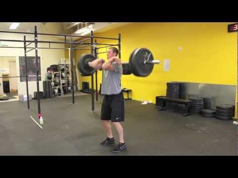 CrossFit Modig - Power Clean Demo Video