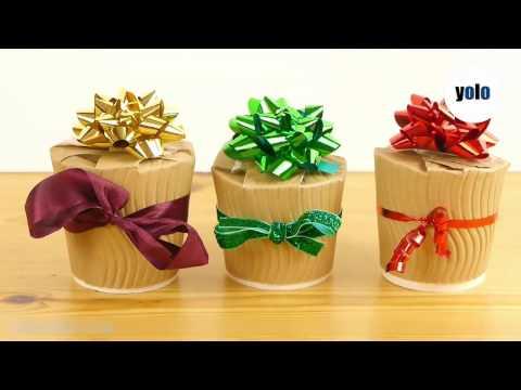 How to make Christmas gift boxes