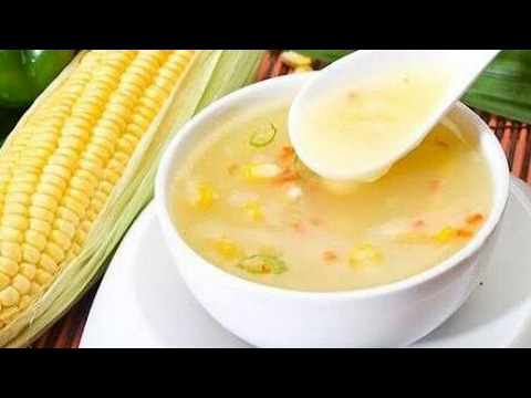 How to prepare Sweet Corn Veg Soup in telugu | Vegetarian Sweet Corn Soup By Moms Tasty Recipes