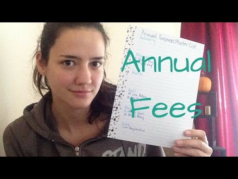 How to Never Forget an Annual Fee!