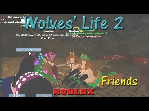 Roblox - Wolves' Life 2 - Friends V - HD