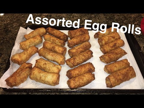 How to Make: Assorted Egg Rolls