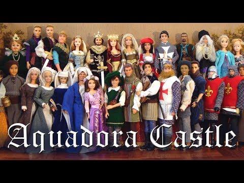 Aquadora #1 Medieval Barbies - Original Intro