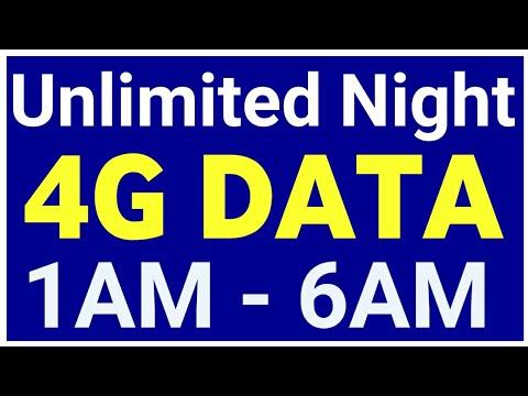 Unlimited Night 4G Pack : 2AM से 6AM तक बिल्कुल अनलिमिटेड 4जी