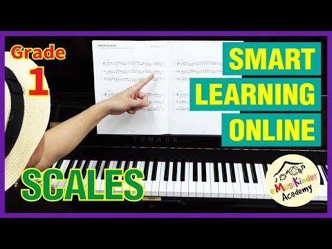ABRSM Grade 1 Scales & Broken Chords: Examination Requirement