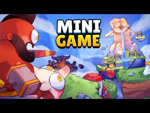 NEW! SECRET MINI GAME INSIDE Clash Royale - Mini Hog Rider Game