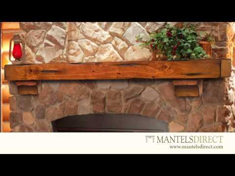 Wood Mantel Shelves | ROI1