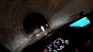 i drove down the tunnel alone... (what i saw will scar me for life)