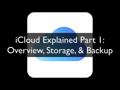 Explaining iCloud Part 1: Storage, Backup, Find My iPhone