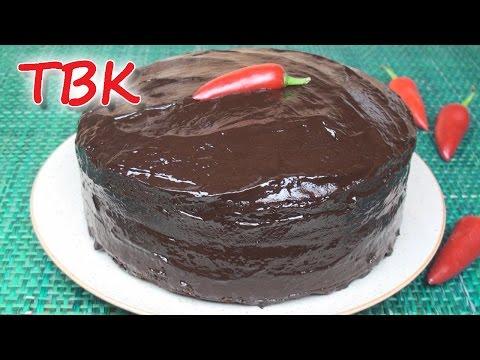 Chocolate Chili Cake Recipe - Titli's Busy Kitchen