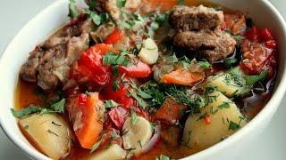 Хашлама, мясо с овощами в собственном соку. Армянская кухня. ПОДКЛЮЧИТЕСЬ К ЛУЧШЕЙ ПАРТНЕРСКОЙ ПРОГРАММЕ ПО ССЫЛКЕ : https://youpartnerwsp.com/join?100067